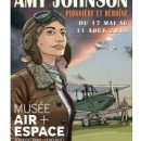Exposition Amy Johnson au musée de l'Air et de l'Espace