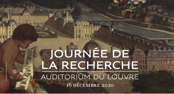 Journée de la recherche au musée du Louvre le 16 décembre 2020
